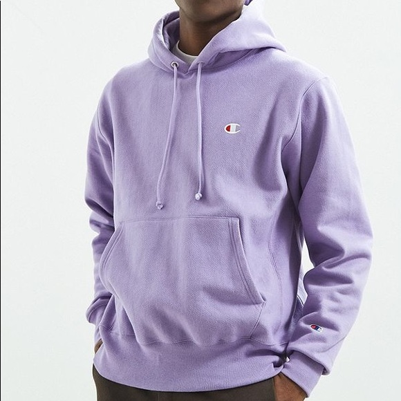 64bd953cd4503 RARE Lilac lavender champion reverse weave hoodie